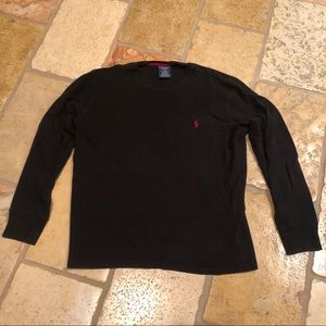 Polo Ralph Lauren Long Sleeve Crew Sleep Shirt